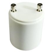 Zeroyoyo GU24 to E27/E26 LED Light Bulb Lamp Holder Adapter Socket Converter White