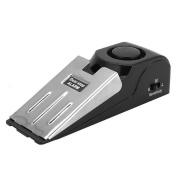 Zeroyoyo Anti-Theft Portable Security Door Stop Alarm Home Office Travelling Safe Wedge Silver