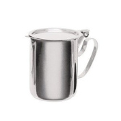 Stainless Steel Sugar-Creamer Stacking Table Server - 300ml Capacity by Pride Of India