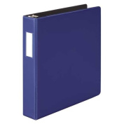 Wilson Jones Heavy Duty D-Ring Binder, 3.8cm Capacity, Dark Blue