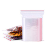 500PCS 4x6cm Clear Ziplock Bags Plastic Baggies Small Poly Bag Reclosable Bags for Candy And Food
