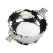 Edwin Blyde & Co Quaich Classic Plain with Iona Handles, 13cm , Pewter