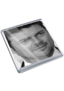 KARL URBAN - Original Art Coaster #js001