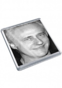 BRENT SPINER - Original Art Coaster #js001