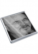 BOB HOSKINS - Original Art Coaster #js001