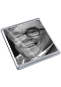 RONNIE CORBETT - Original Art Coaster #js001