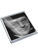 MIKE REID - Original Art Coaster #js001