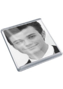 CHRIS COLFER - Original Art Coaster #js005