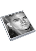 CHRIS PINE - Original Art Coaster #js004