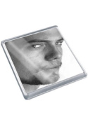 JACKSON RATHBONE - Original Art Coaster #js001