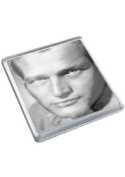 PAUL NEWMAN - Original Art Coaster #js002