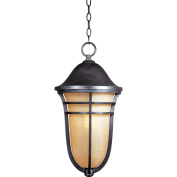 Maxim Lighting 40107MCAT, Westport VX 1-Light Outdoor Hanging Lantern, Artesian Bronze