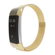 Creazy Milanese Stainless Steel Watch Band Strap Bracelet For Fitbit Charge 2