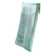 Funbase Portable Mini Travel Mesh Zip Storage Bags Cosmetic Makeup Case Pencil Pouch