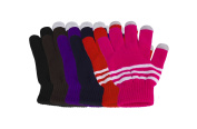 Pack of 6 Texting Gloves Women - Assorted Touch Screen Gloves Women