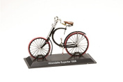 Miniature Bicycle Diecast. Model Hirondelle Superbe 1888 - 1/15 Scale bic048