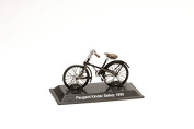 Miniature Bicycle Diecast. Model Peugeot Kinder Safety 1890 - 1/15 Scale bic033