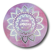 Dreamcatcher/Dream Catcher ~ PINK MANDALA - YOU ARE AMAZING (DC06) ~ By Lisa Pollock