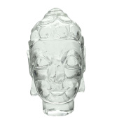Décorative Lord Buddha Indian Crystal Carved Figurine Statue Décor Gift