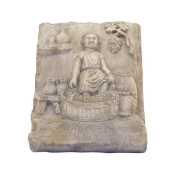 Bas-Relief Grape Harvest in Marble of TRANI Hand Sculpted