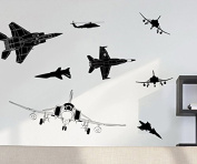 Wall decal for Home Decor - Fighter Aeroplane