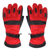 CHIC-CHIC Men's Winter Waterproof Ski Gloves Snowboard Cycling Bicycle Snowmobile Outdoor Thick Warm Gloves Mittens