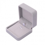 LEERYA Fashion Velvet Gift Jewellery Ring Necklace Bracelet Display Box Case