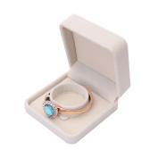 LEERYA Fashion Velvet Gift Jewellery Ring Necklace Bracelet Display Box Case