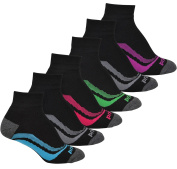 Prince Women's Short Quarter Performance Athletic Socks for Running, Tennis, and Casual Use