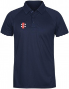 Grey-Nicolls Matrix Cricket Polo Shirt