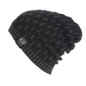 GBSELL Men Women Warm Crochet Winter Wool Knit Hat Beanie Slouchy Sport Running Ski Cap