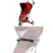 Quinny Zapp Xtra2 and Bumper Bar Bundle - Red Rumour