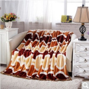 BDUK Ferrets Soft, Lint-Free Computer Office Warm Blanket Spring And Autumn Blankets Student Double Blankets, Ai) ,2*2.3 M