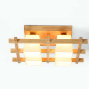 High quality-- LED Modern Minimalist Wood Ceiling Lights Bedroom Living Room Ceiling Lights, Two Styles Optional --Efficiency:A+++