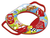 Lulabi Disney Cars Baby Soft Toilet Seat with Handle, Red