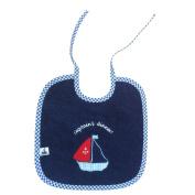 Hans Kind Dark Blue Sailing Boat TBA16013 Bib