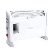Duronic HV120 Convector Heater with Thermostat and Turbo Fan - 3 Settings