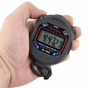 Sannysis Professional Digital LCD Chronograph Handheld Sports Stopwatch Timer