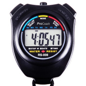 ProCoach Sports Stopwatch Timer RS-008 - Large Display, Water Resistant, Professional | The Athlete's Choice