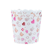 Zhhlaixing Fashion 50 Pcs Cupcake Wrapper Wave Paper Cake Case Baking Cups