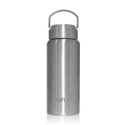 OFLY Stainless Steel Water Bottle 500ml Double Walled Vacuum Insulated Travel Water Bottle Hot and Cold Drink BPA Free Thermos Cup for Camping, Travel, Hiking and More
