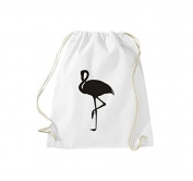ShirtInStyle Gym Sack Sports Bag Cult Bag Animals Flamingo