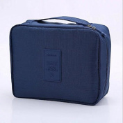 Liroyal Travelling Washing Bag Cosmetic Bag Travelling Storage Bag,navy