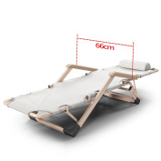 Folding Bed Single Simple Folding Lounger Nap Lounge Office Beds