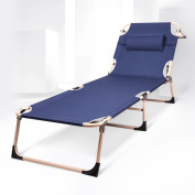 Lounge Chair Fold Lunch Break Beds Office Couch Individual Simple Bed Portable
