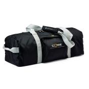 MERRITHEW Core Mat Bag, Duffle Style (Black/Grey), 26.5 inch / 67.5 cm