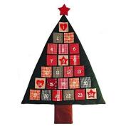 Fabric Christmas Tree Advent