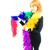 Deluxe Feather Boa Thick High Quality 17 Different Colour's Dance Burlesque Fancy Dress Brand New UK