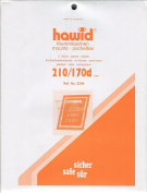Hawid Stamp Mounts - 210 x 170mm - Clear