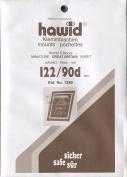 Hawid Stamp Mounts - 122 x 90mm - Black